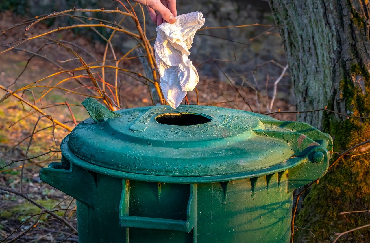 ゴミ箱を減らすメリット1:無くても慣れる