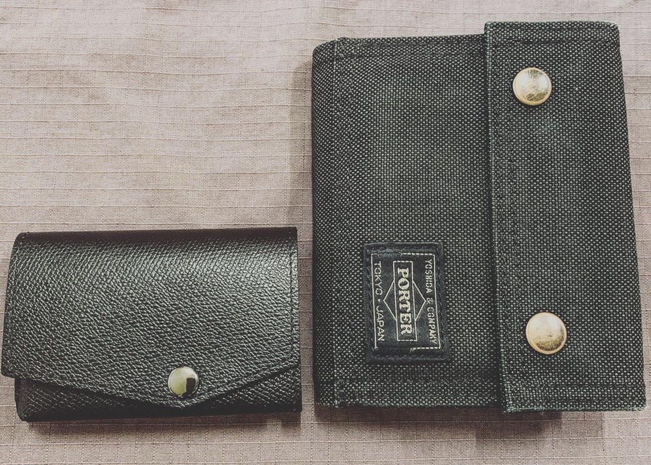 abrAsus 小さい財布を過去の財布と比べてみた