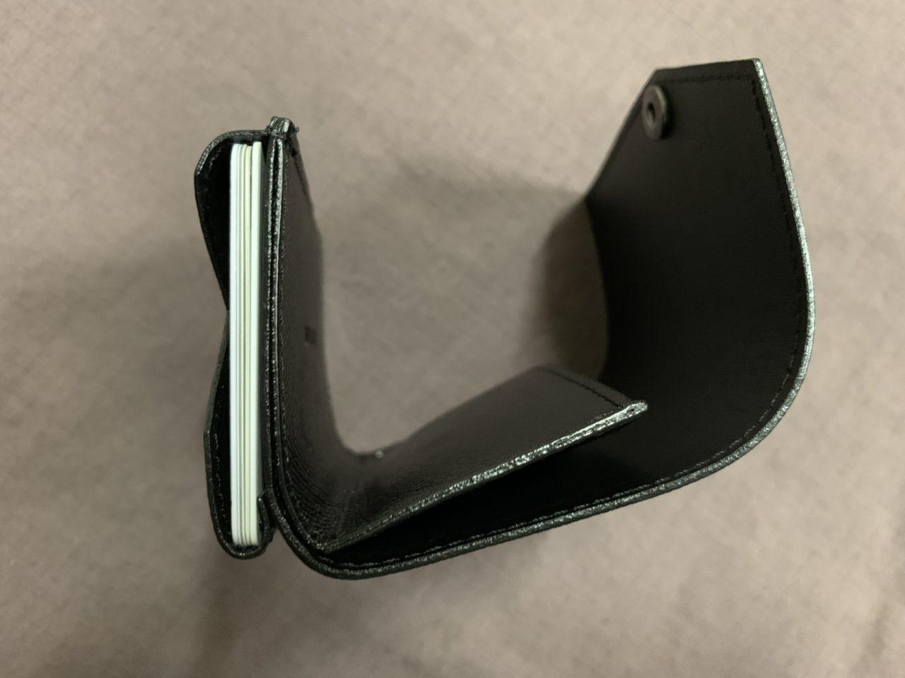 abrAsusの小さい財布をレビューしていきます