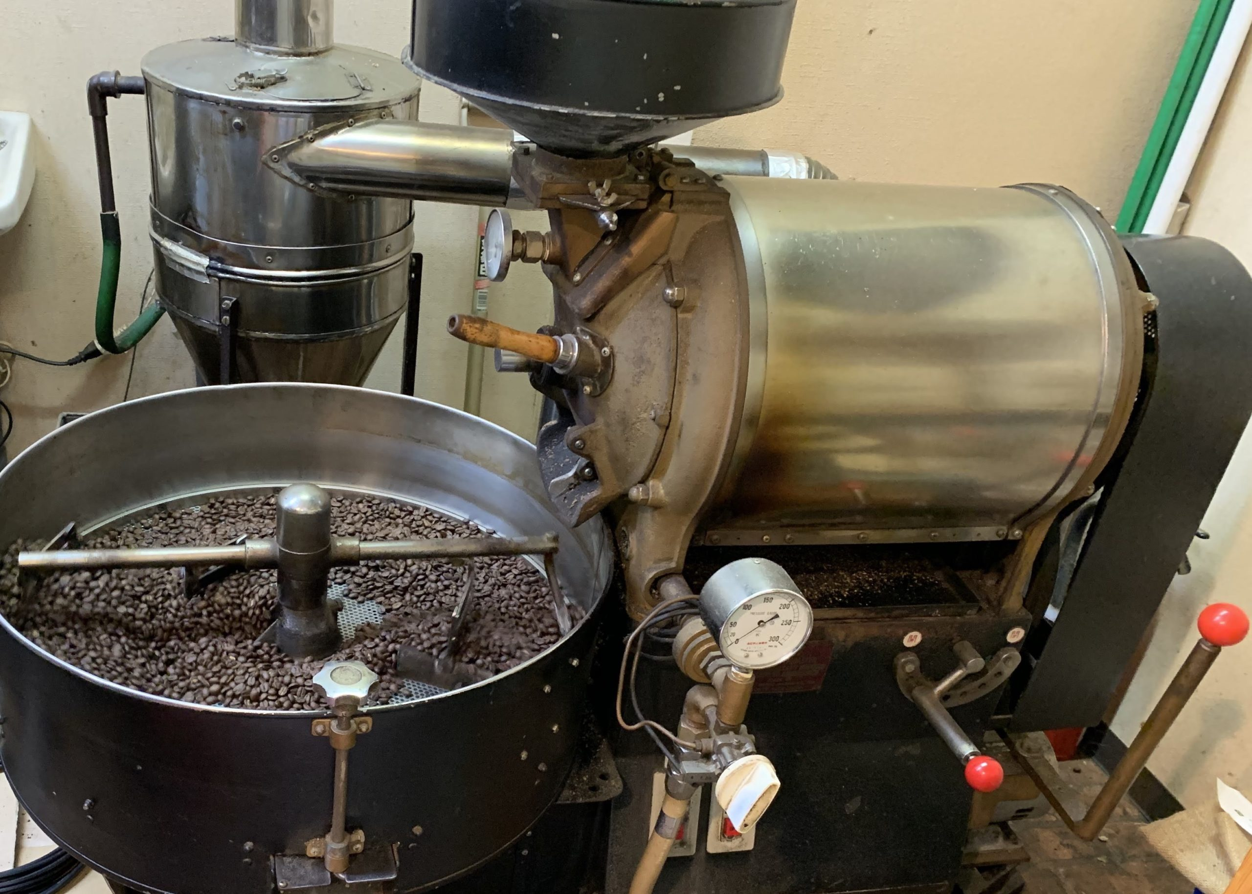 自家焙煎だから鮮度の良い珈琲豆が購入できる