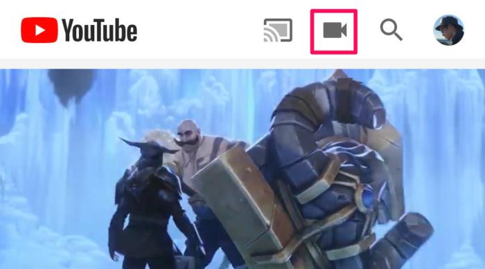 YouTubeにあげる場合…
