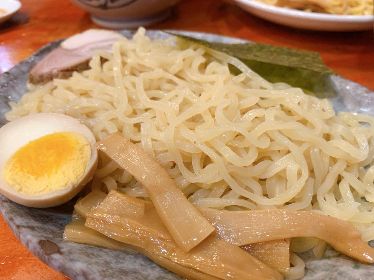 夏季限定 冷やし坦々味噌つけ麺