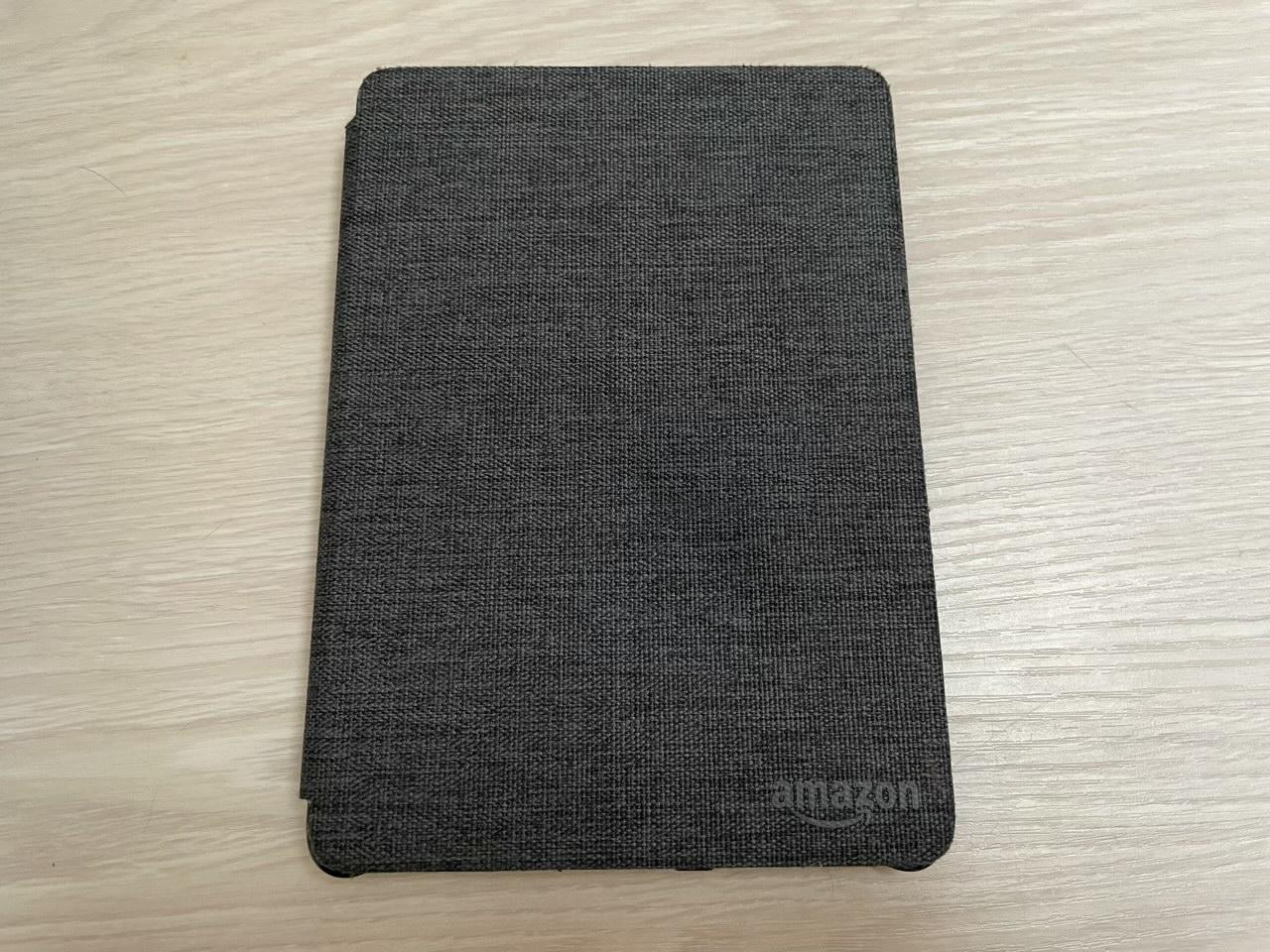 Amazon Kindle Paper white(第10世代)用 ファブリックカバー チャコールブラック