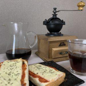 ピザトースト キリマンジャロ