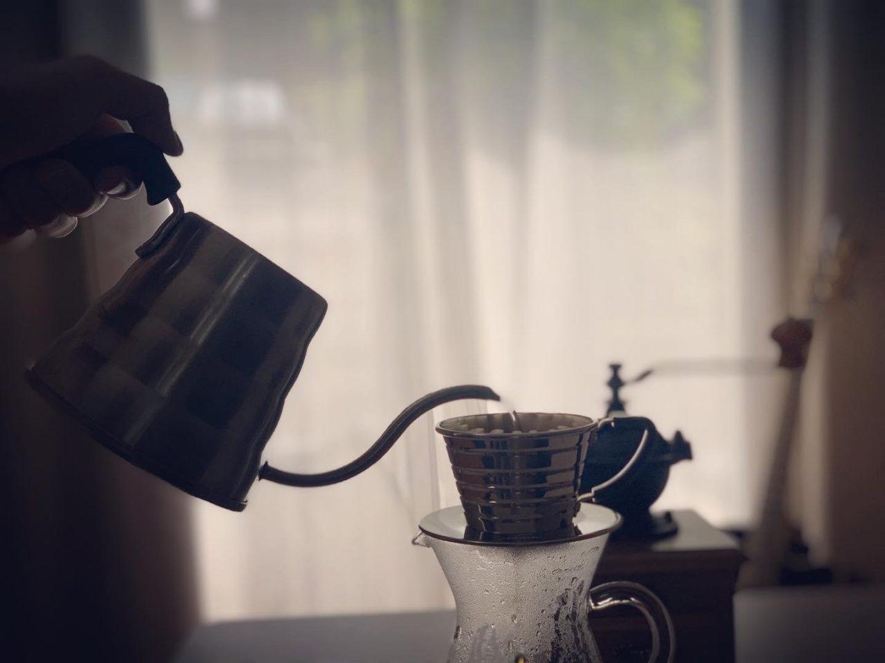 スローという贅沢「ドリップコーヒー」に挑戦