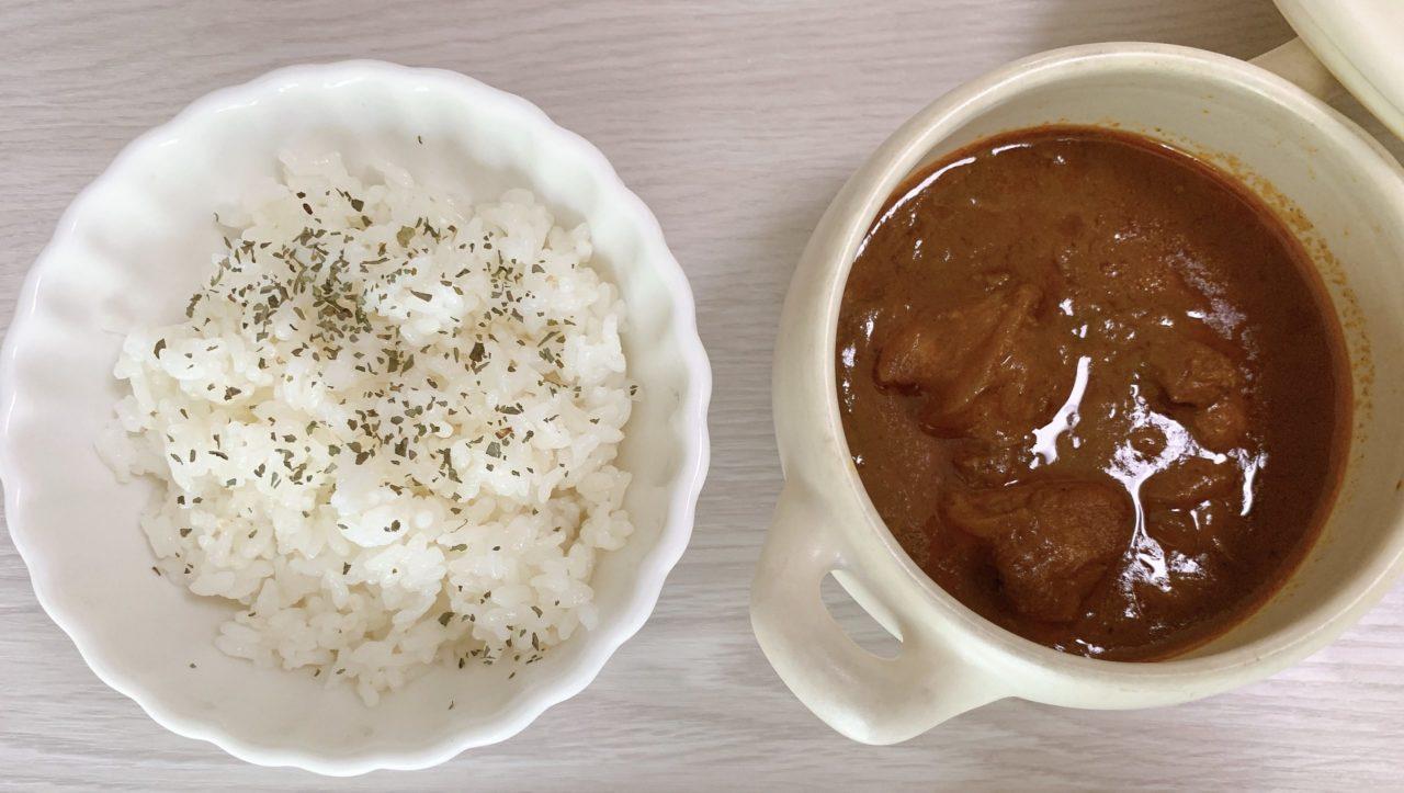 バターチキンカレー(ココナッツミルク仕立て)