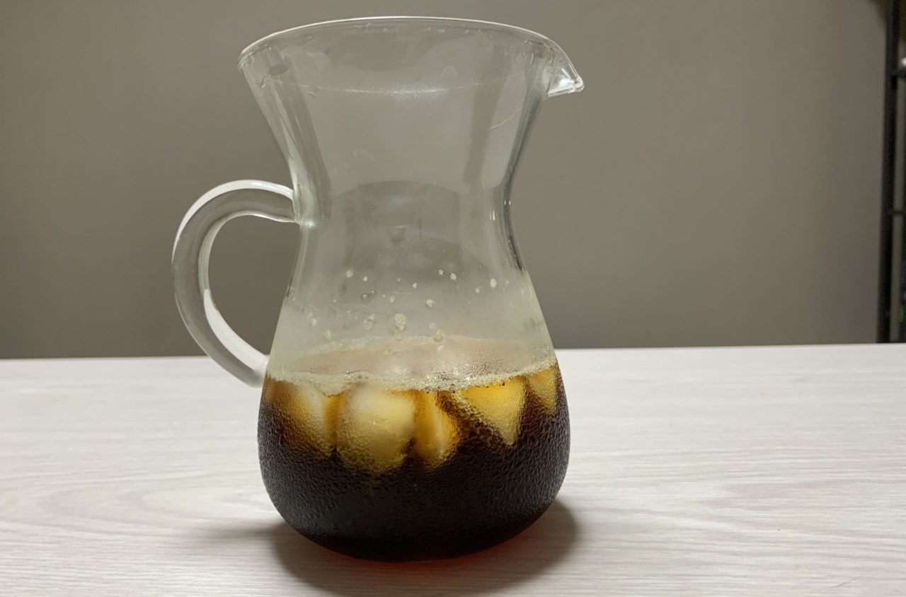 浅煎りアイスコーヒーの出来栄えは??
