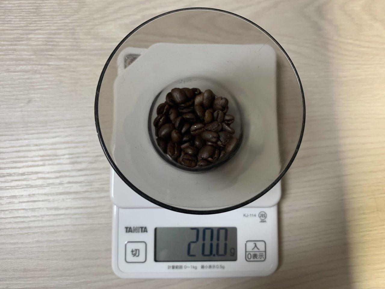 2倍濃縮コーヒーの作り方