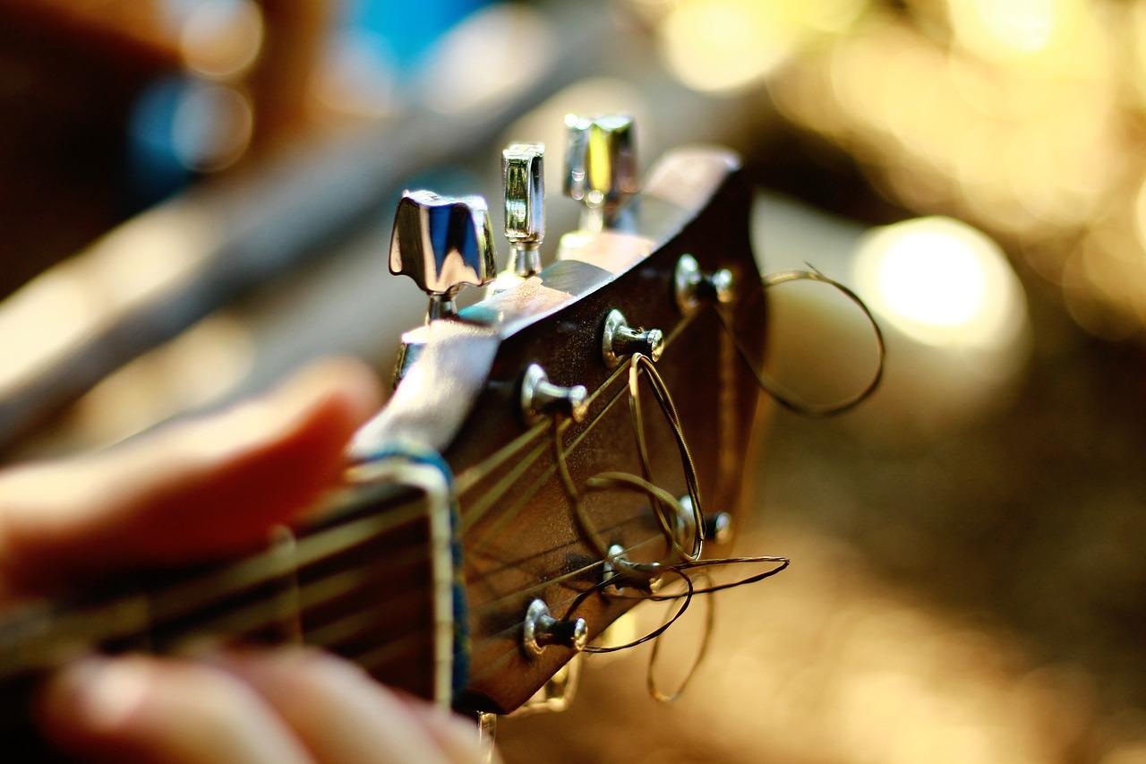 ギターの基本的なチューニングについて