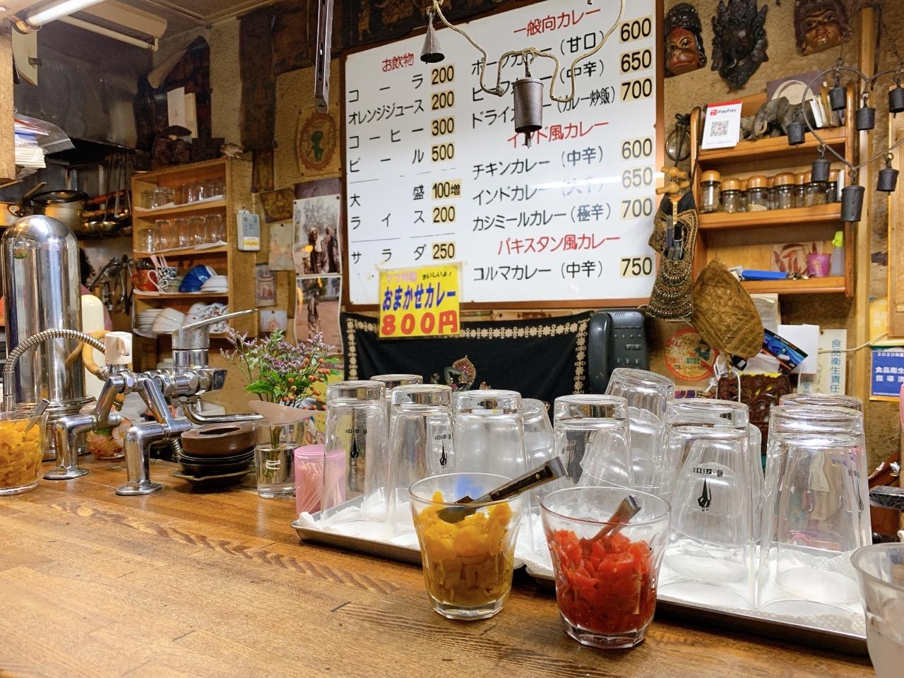 【松戸】カレー専門店 印度のメニューについて