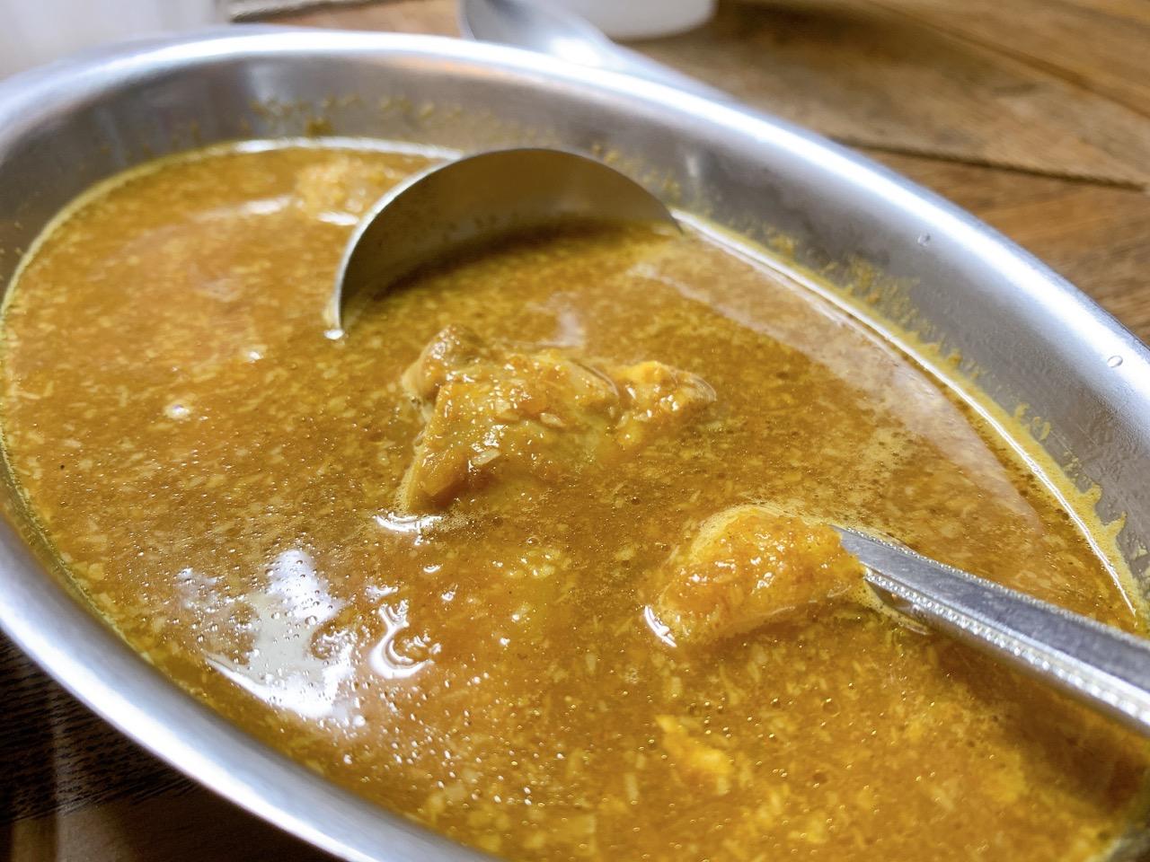【松戸】カレー専門店 印度の「チキンカレー」