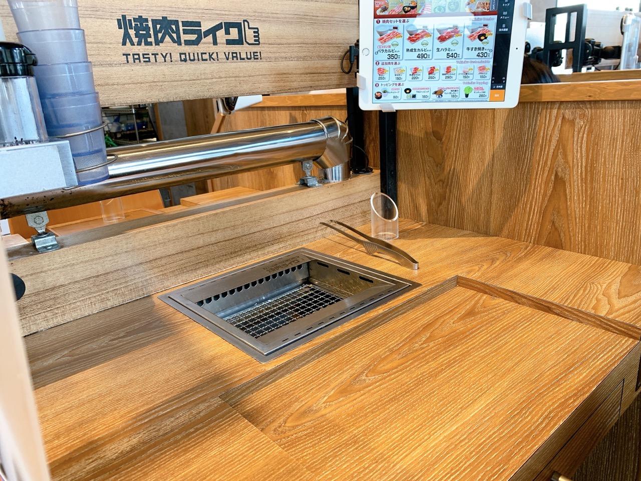 焼肉ライク 松戸南花島店のメニューや利用方法について