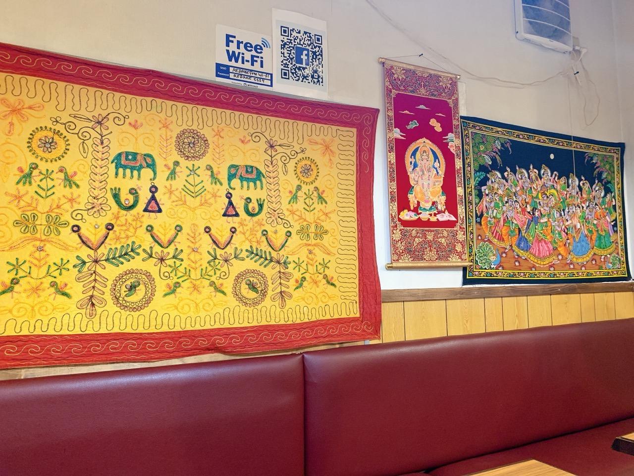 インド料理 レッドローズの雰囲気