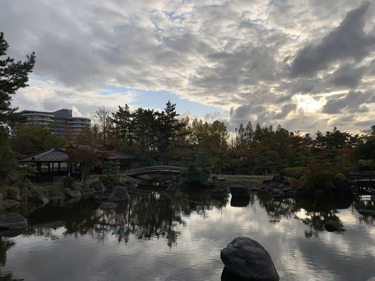 新潟県立鳥屋野潟公園の最大の見所「日本庭園」