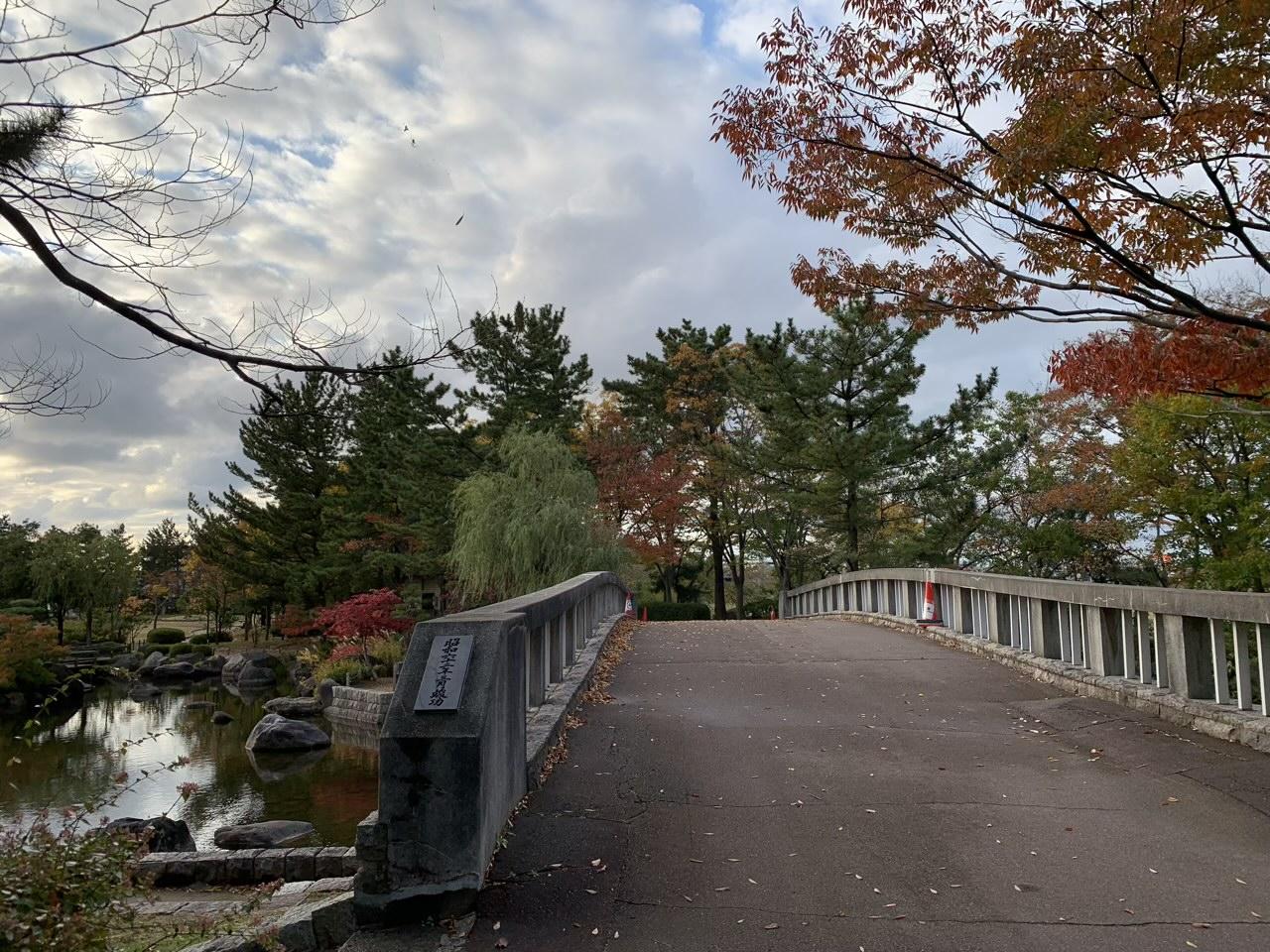 新潟県立鳥屋野潟公園の最大の見所「いやしの庭園」