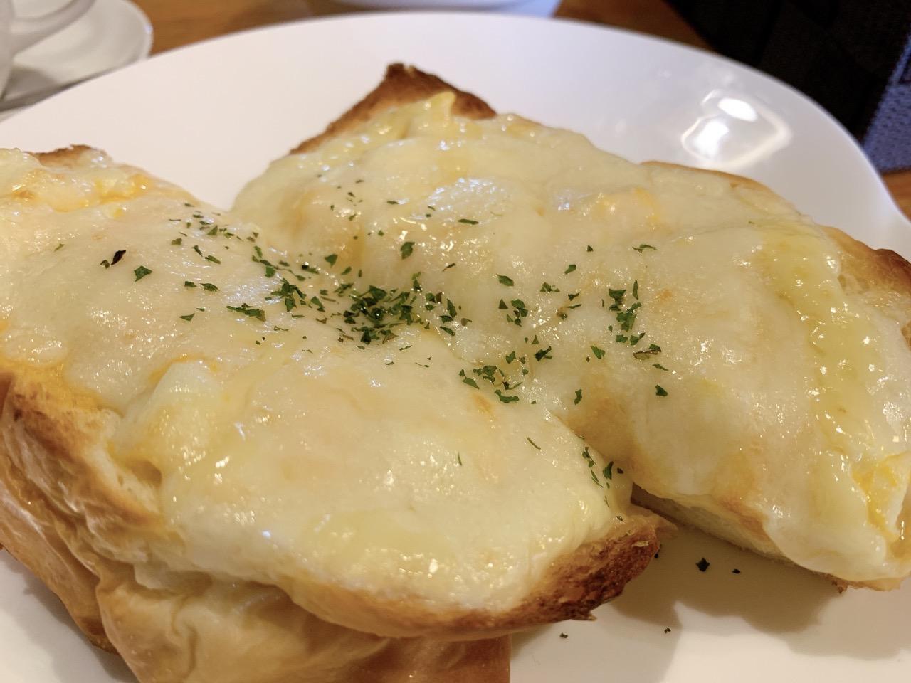 珈琲館 mai 寺尾店 たまごチーズトースト