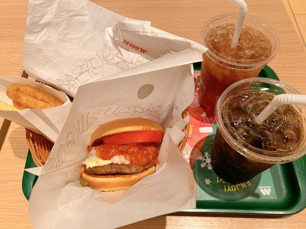 モスバーガー 松戸駅東口店を利用してみた