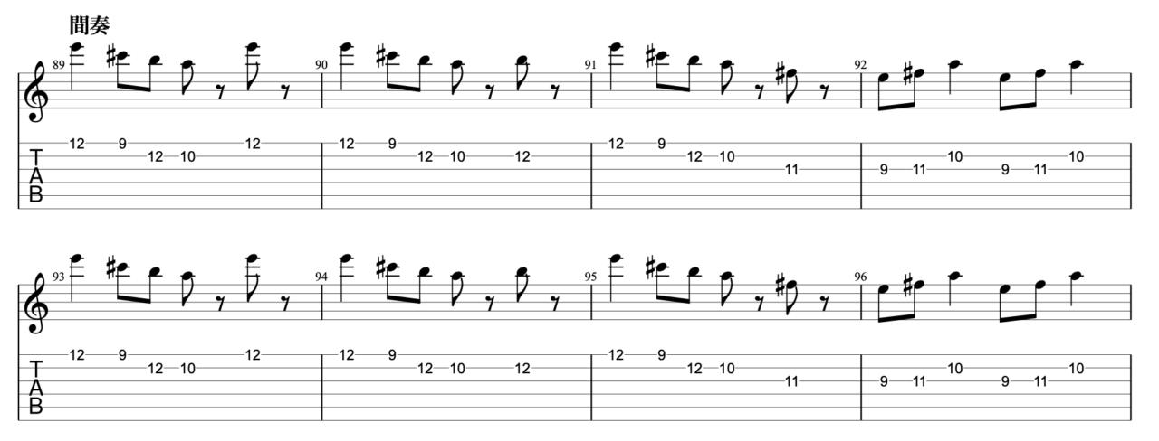 それゆけワンダーランド|beco(騒音のない世界)のギターフレーズ解説