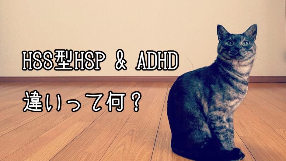HSS型HSPとADHDの違いは注意力?混同されがちな特徴について比較してみた