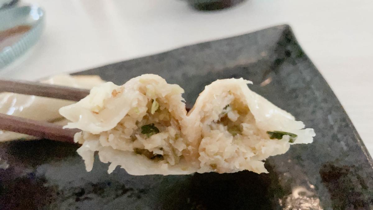 とんとん餃子無人販売所 北松戸店の冷凍餃子を食べてみた