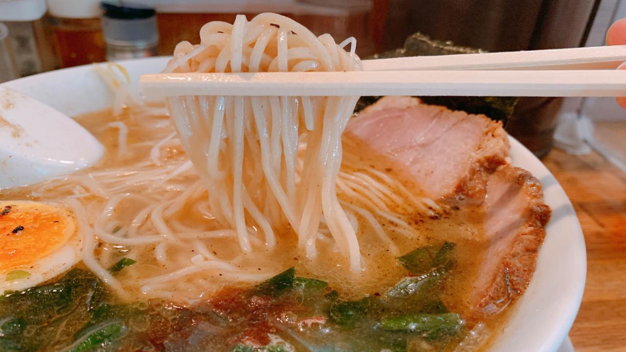 潮特製まねきラーメン(塩味)