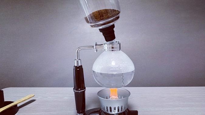 サイフォン式コーヒー・使い方 手順3