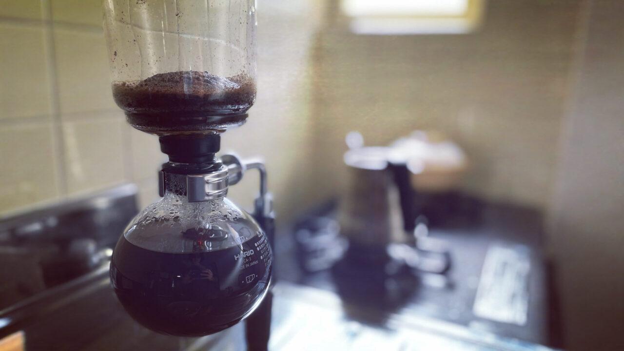 サイフォン式コーヒー・使い方 手順5